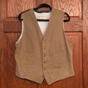 🤩Men's Merona sz L six button vest